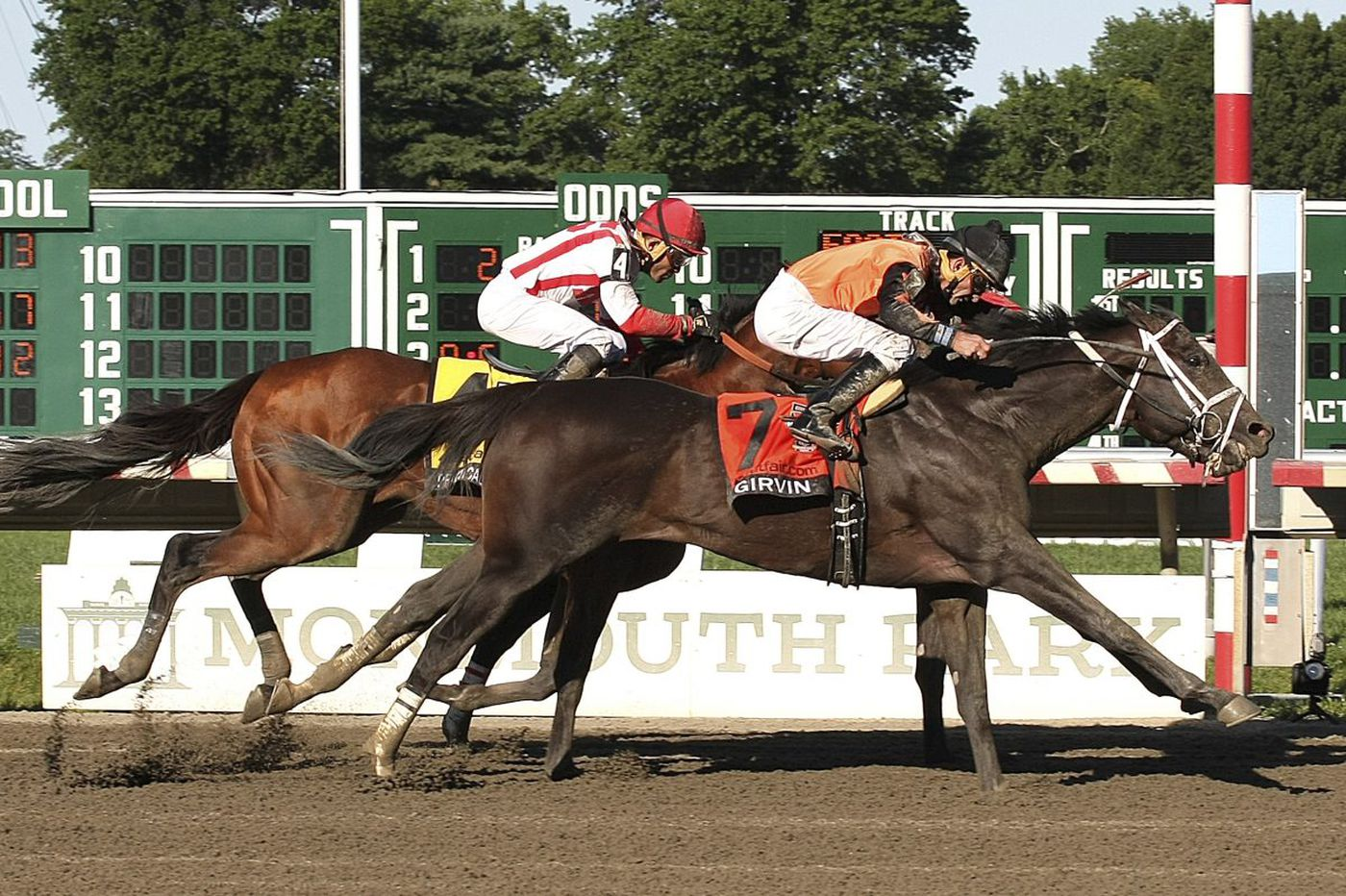 Everything's Rosie for Girvin in Haskell