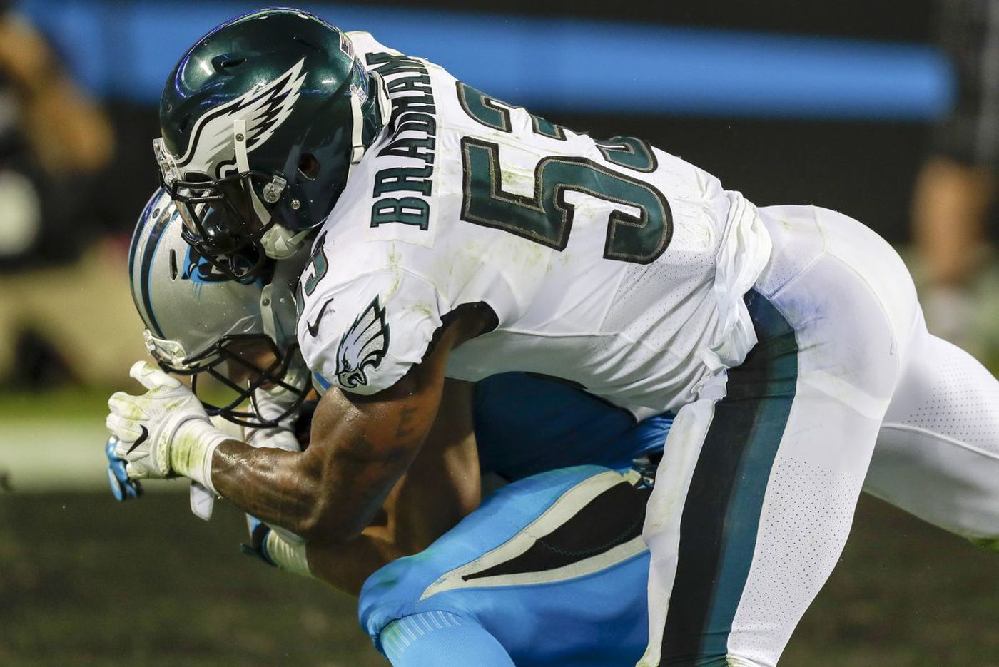 Eagles' Nigel Bradham finally getting the recognition he believes is long deserved