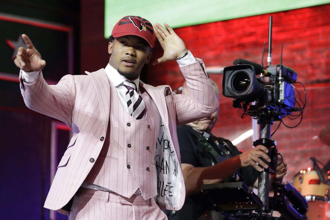 37e2dd8532b2b2 NFL draft: Kyler Murray makes history at expense of Cardinals' Josh Rosen