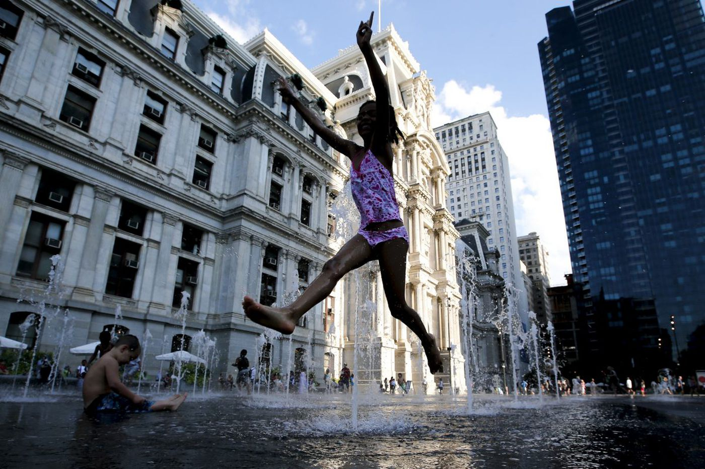 Spraygrounds bring summer joy, for less money and with less effort than pools