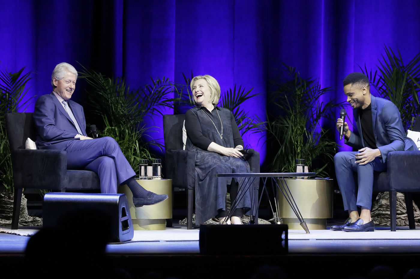 The Clintons visit The Met: A look back, with nods to the future