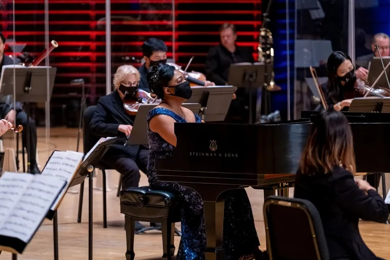 Pianist Michelle Cann performs Florence Price's 'Piano Concerto in One Movement' with the Philadelphia Orchestra in a Digital Stage presentation