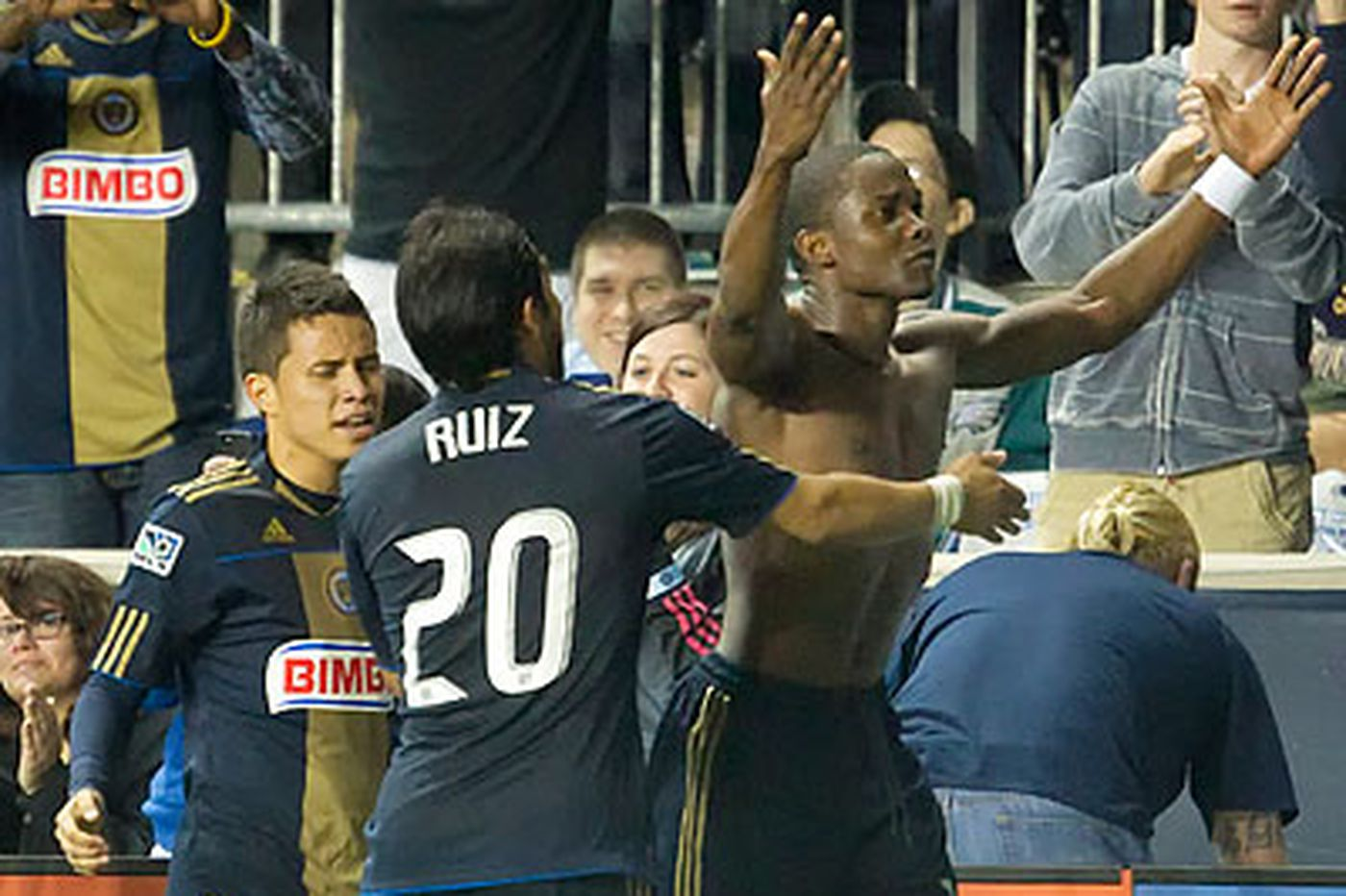 Union tie Colorado on goal by Mwanga