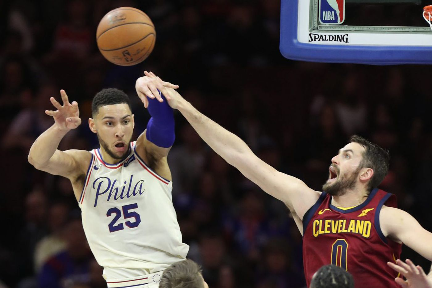 Sixers hold off LeBron James, Cavaliers behind Ben Simmons triple-double to reach No. 3 seed