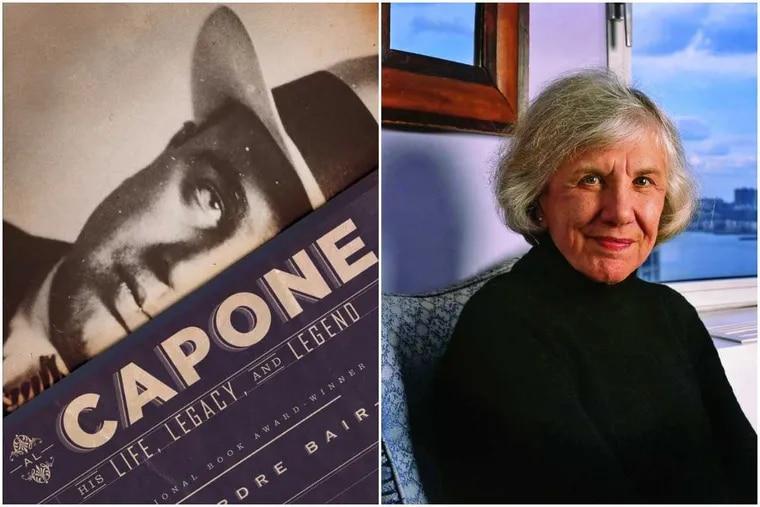 """""""Capone,"""" and author Deirdre Bair."""