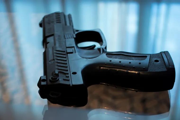 Stock image of a handgun.