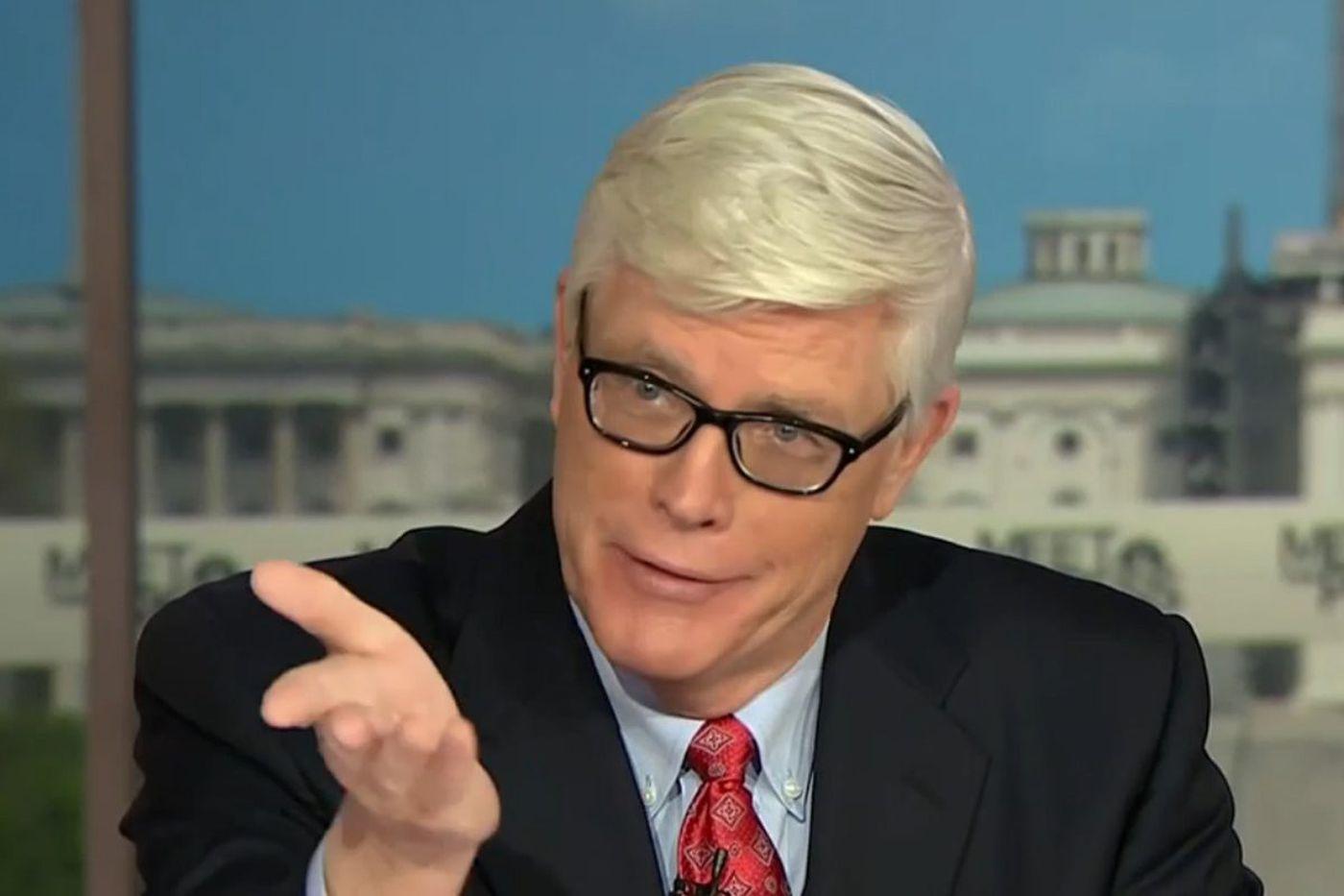 MSNBC reprimands host Hugh Hewitt over unrevealed ties with EPA leader Scott Pruitt