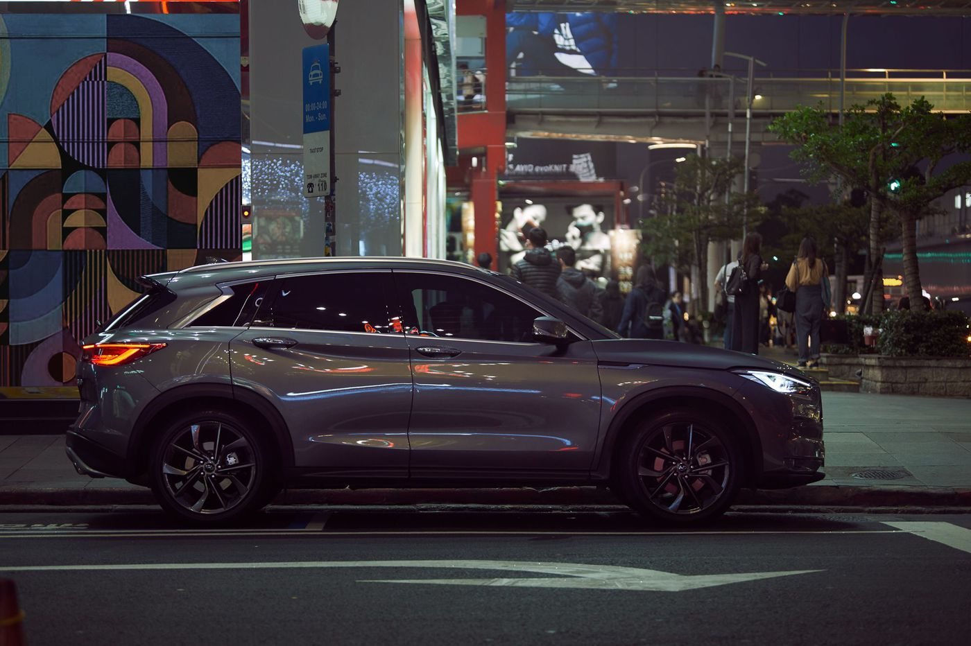 Infiniti QX50: Pioneer life can be difficult