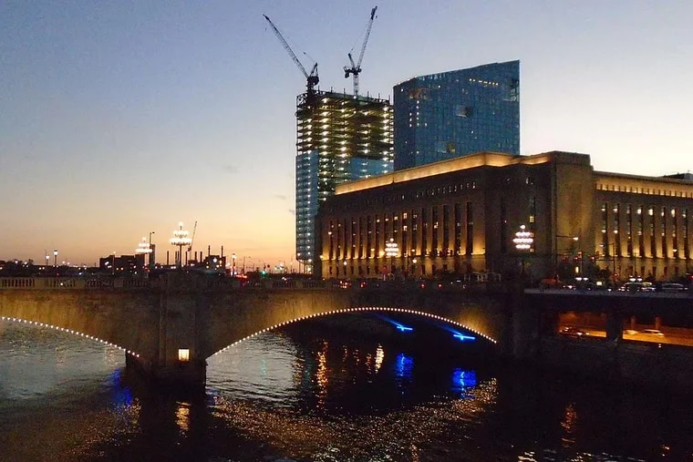 In its next move , the Philadelphia Stock Exchange will occupy three floors of the 49-story FMC Tower at Cira South on Walnut Street.