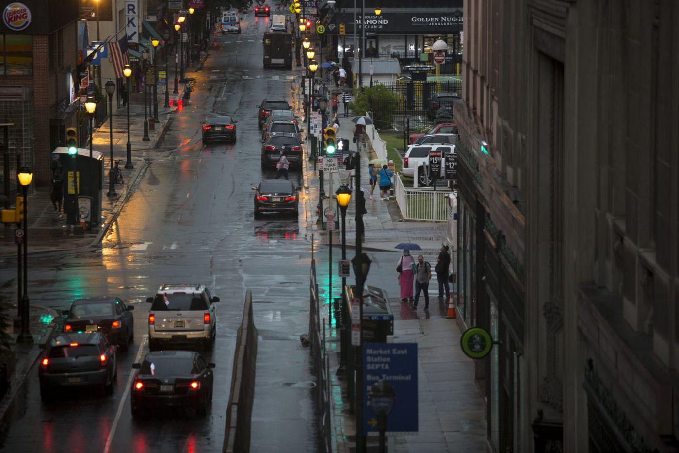 How an atmospheric traffic jam inundated Burlco