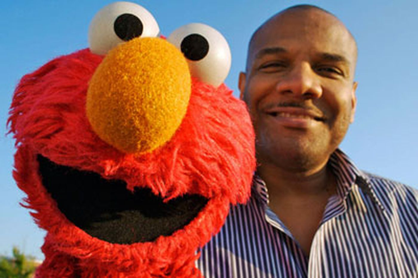 Elmo's alter ego: Portrait of Sesame St. puppeteer