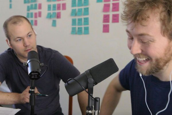 The story of Hinge, Philly-based podcast by an atheist and a pastor