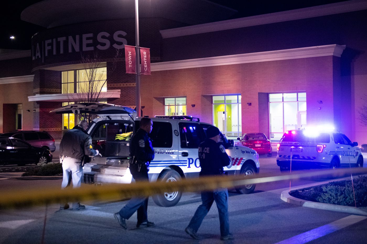 Shooting Outside King Of Prussia La Fitness