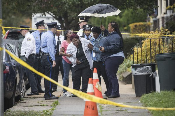Son charged with killing mother, stepfather and 2 brothers in West Philadelphia home, police say