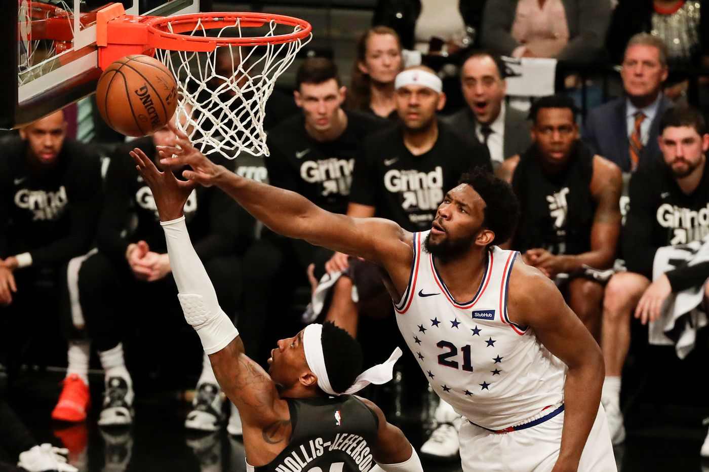 Sixers podcast: Joel Embiid's flagrant foul situation, why closing out in five games is key, Elton Brand's beneficial trades