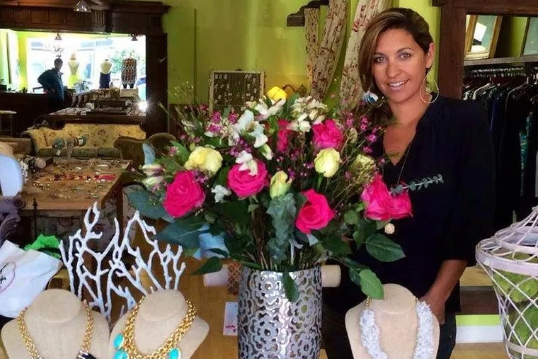 Scout and Molly's founder Lisa Kornstein stands in one of her North Carolina stores.