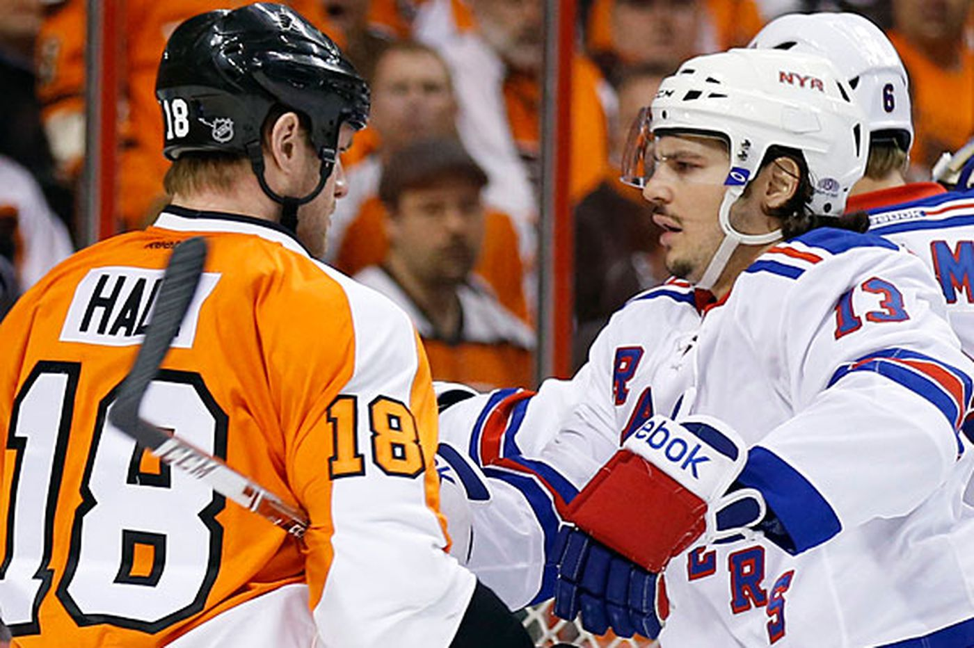 Former Flyer Carcillo effective vs. his old team