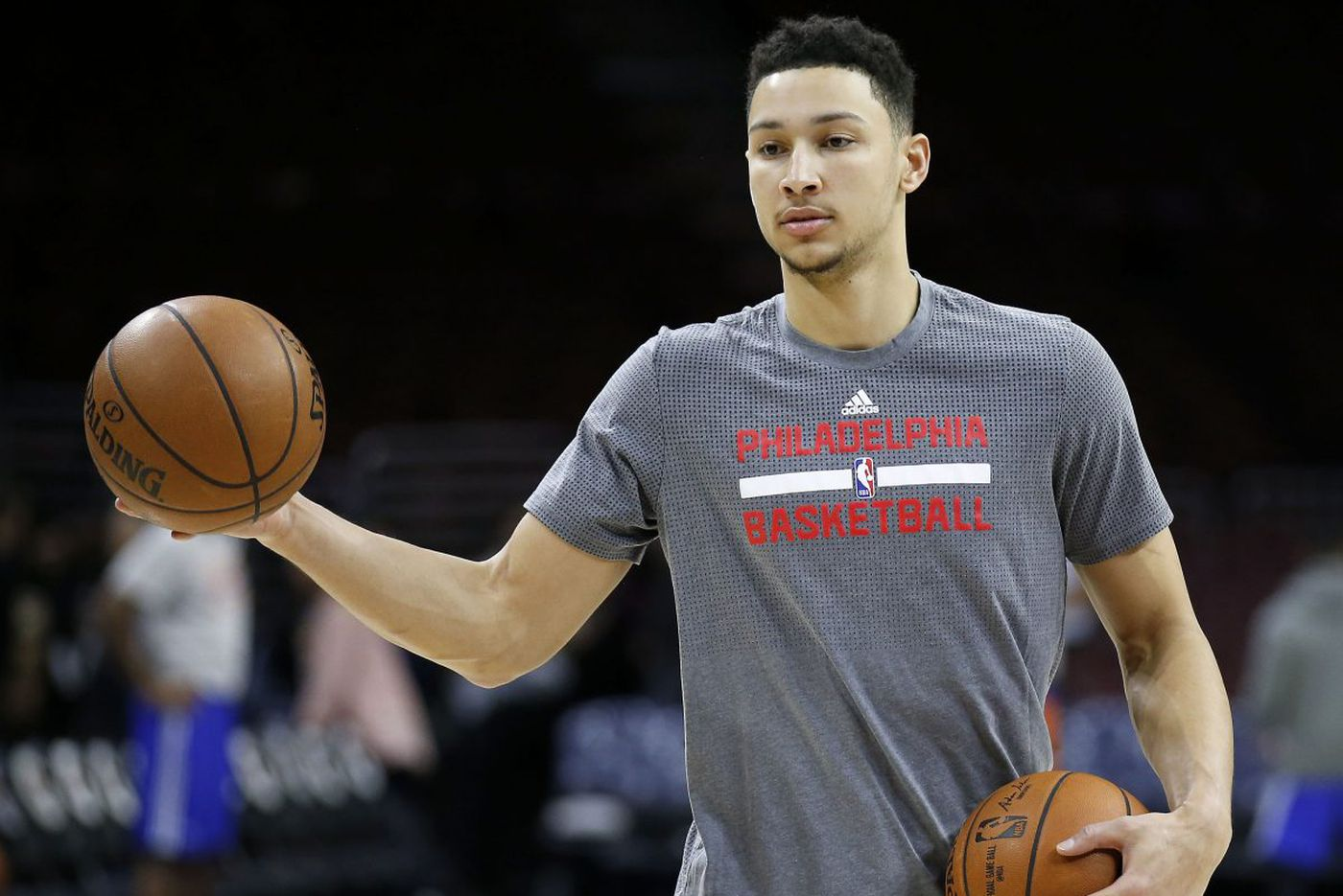 Sixers' Simmons: 'I'm a starting point guard'