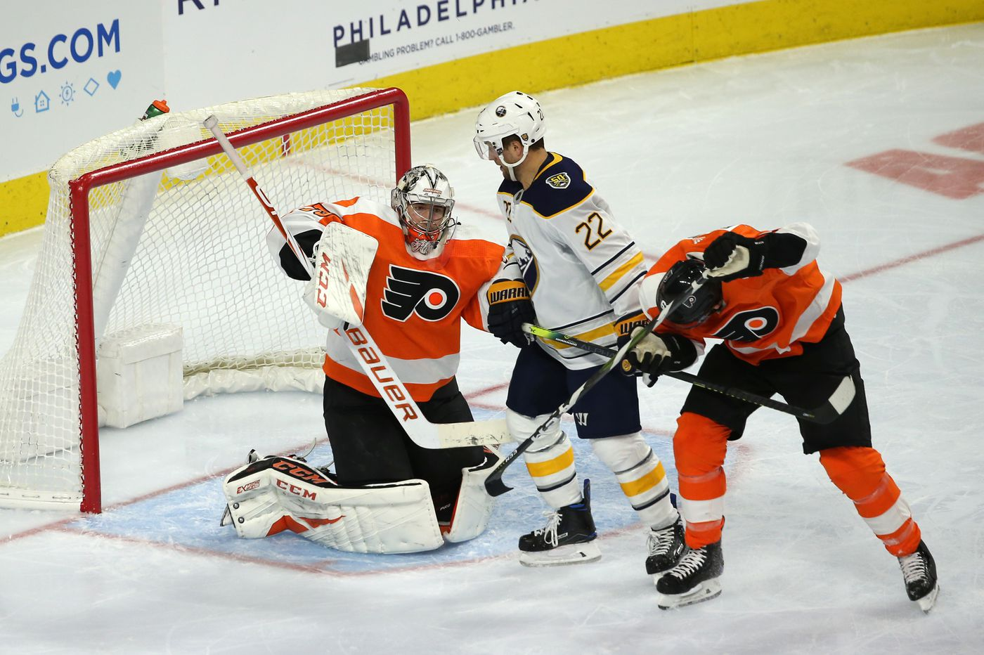 Carter Hart made some NHL history in Flyers' win over Sabres