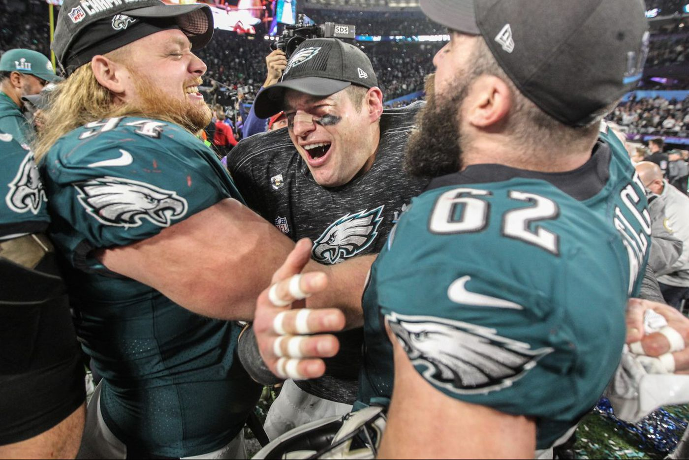 Eagles offensive line: The most dominant unit in Super Bowl LII
