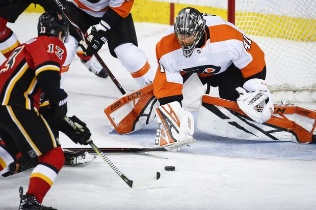 Flyers goalie Anthony Stolarz is moving from unwanted to invaluable