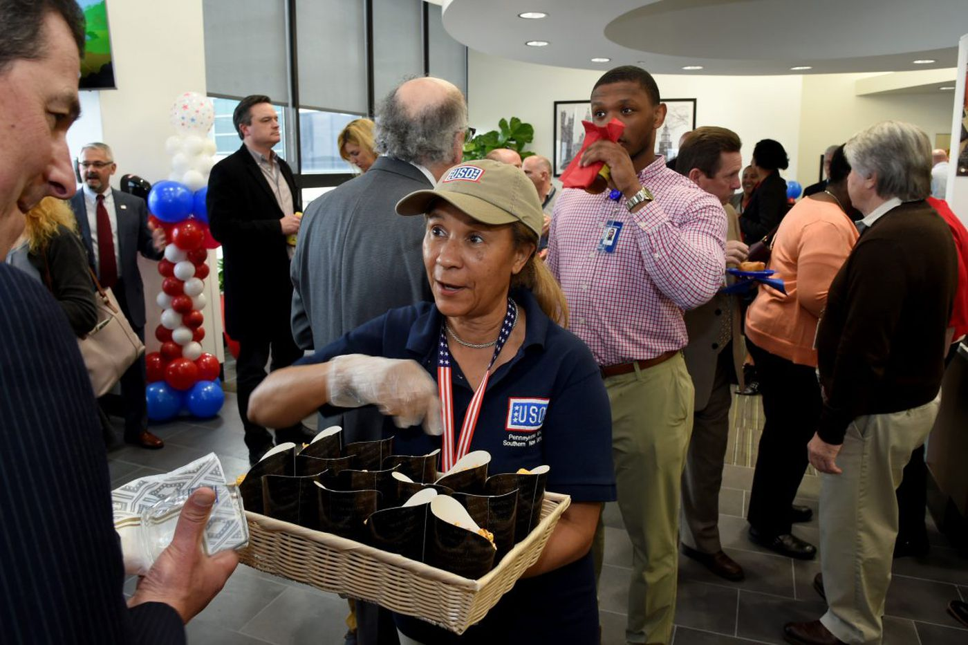 Philadelphia airport opens larger lounge for military families in transit