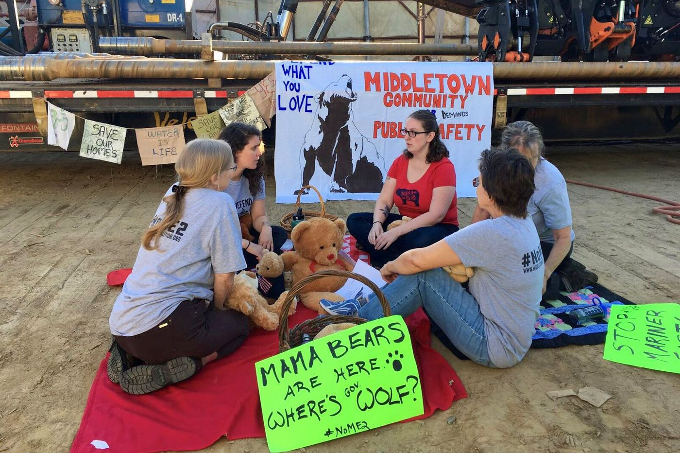 'Mama Bears' arrests signal new frustration of Delco pipeline protesters