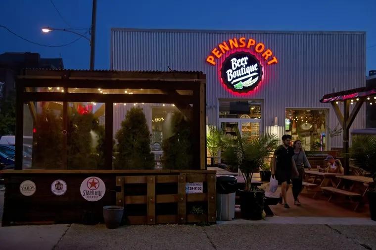 Pennsport Beer Boutique.