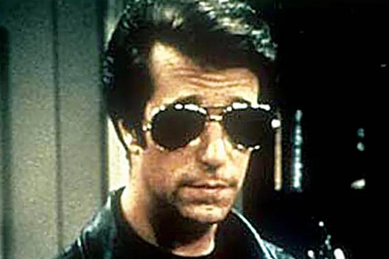 """Henry Winkler as """"The Fonz"""""""