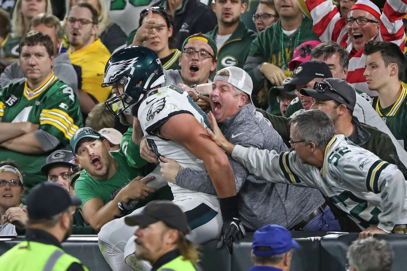 Eagles film breakdown: Dallas Goedert can block, but he still pines to catch