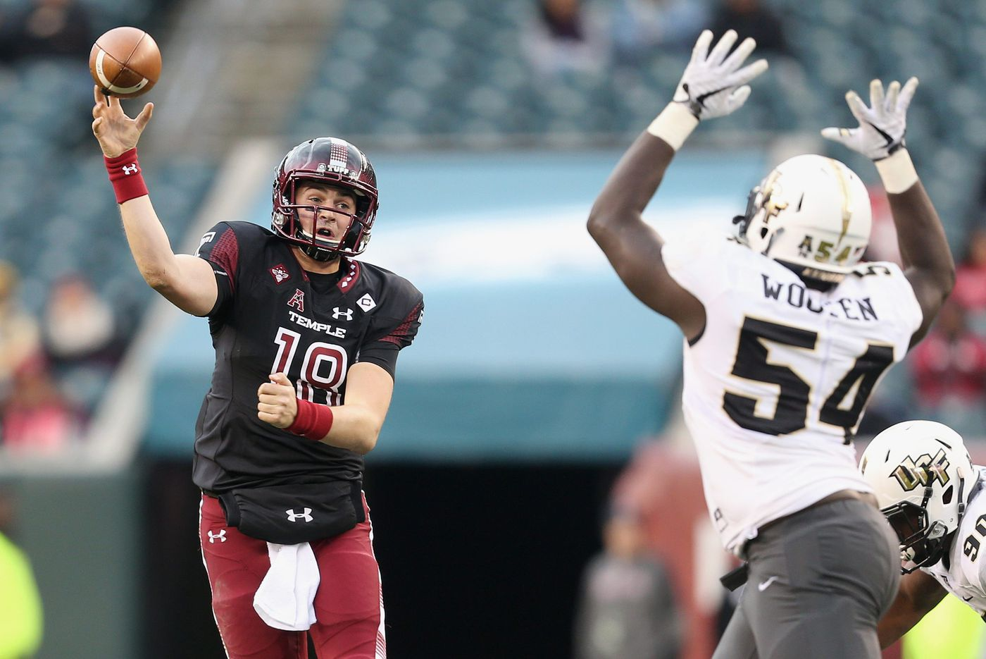 Temple's Frank Nutile eagerly approaches his first opening-day start