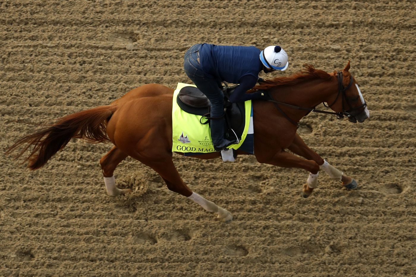 With Justify retired, Good Magic is the favorite for Sunday's Haskell