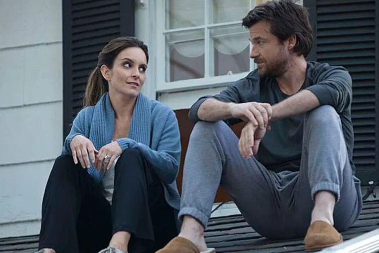 """No joke: Tina Fey (left) and Jason Bateman in the not-very-funny dysfunctional-family comedy """"This is Where I leave You."""" (Warner Bros.)"""