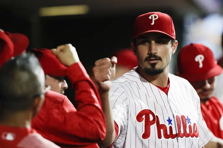 Zach Eflin, along with other young pitchers Nick Pivetta and Vince Velasquez, have impressed Gabe Kapler and Matt Klentak enough that they haven't had to change strategy.