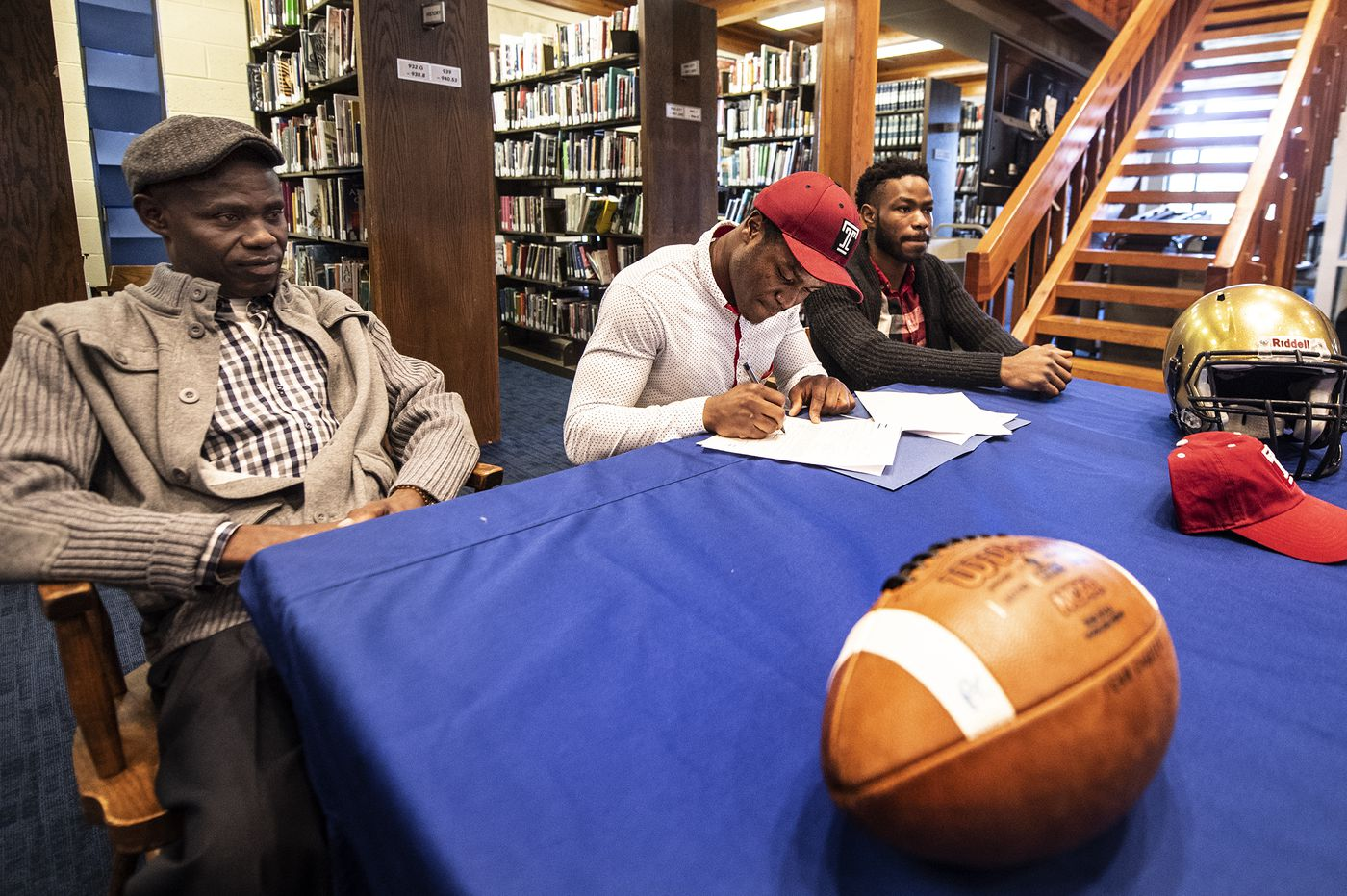 Penn Charter senior running back, Edward Saydee's journey began in Liberia and will continue at Temple