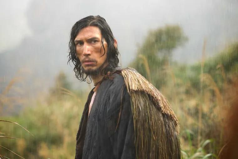 "Adam Driver as Father Garupe in ""Silence."""