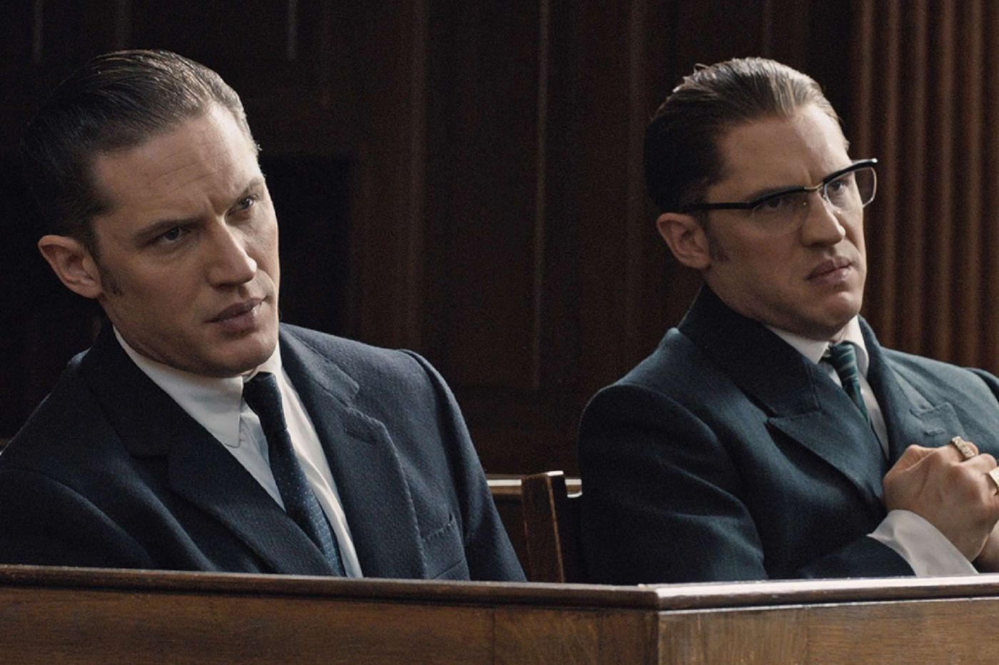 'Legend' wastes a wild Tom Hardy in dual role