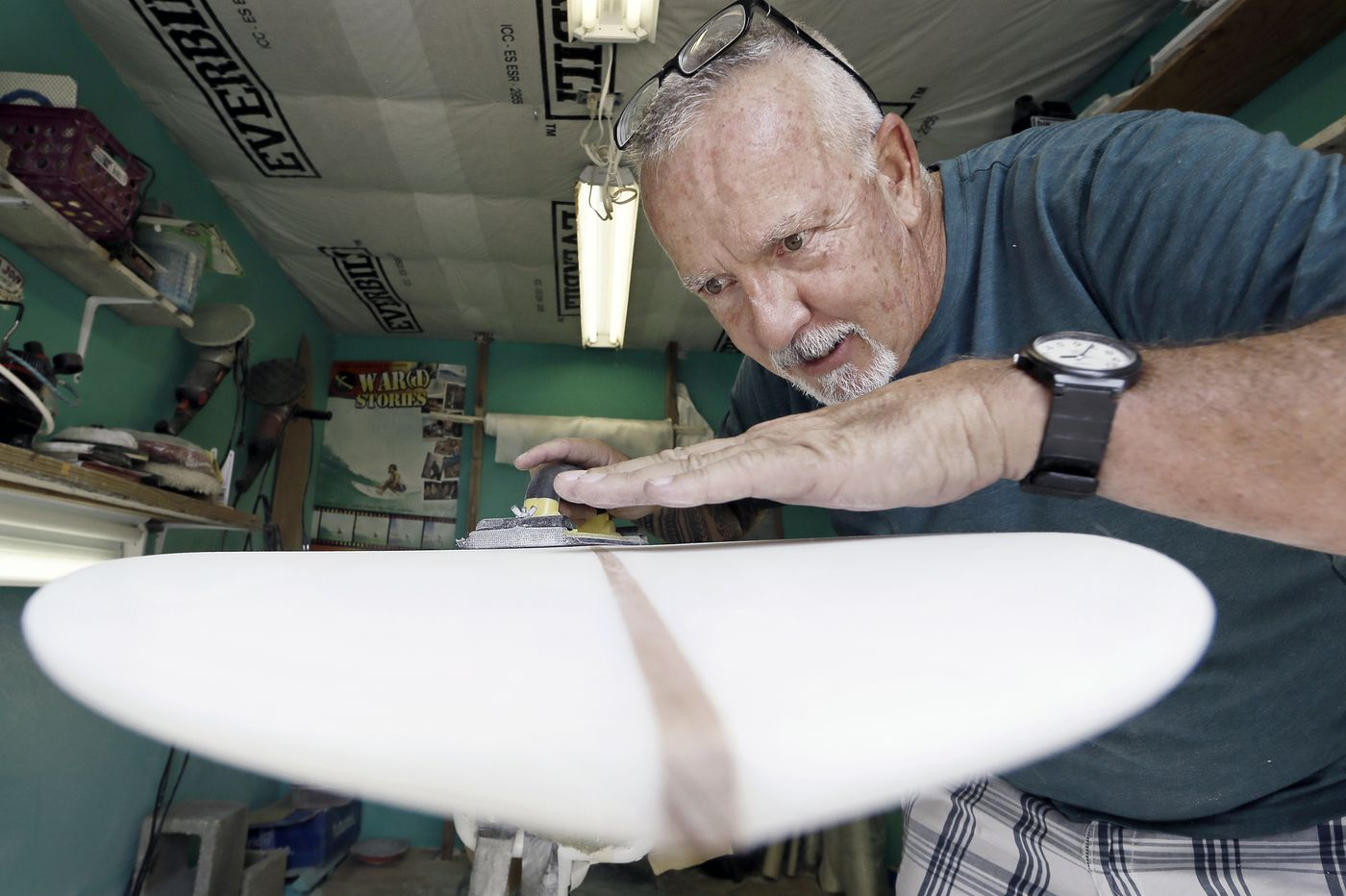A middle-school teacher customizes surfboards to give people with disabilities the ride of their lives
