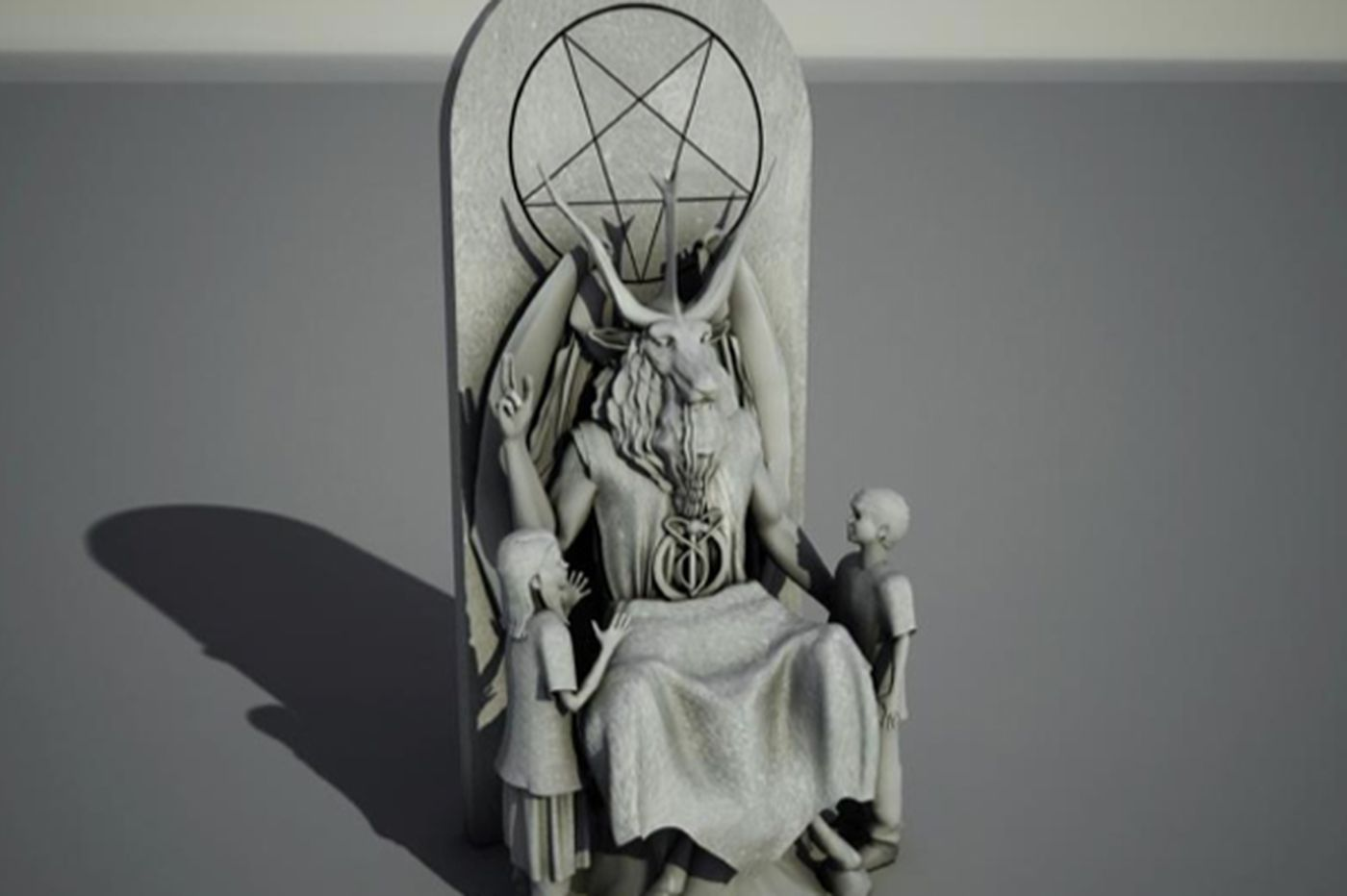 Satanists unveil proposed statue for OK state capitol