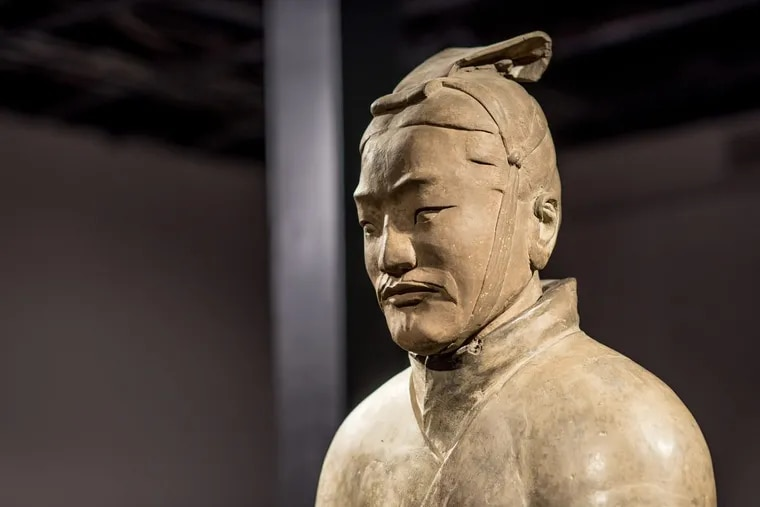 The Terracotta Warriors are on exhibit at the Franklin Institute through March 4.