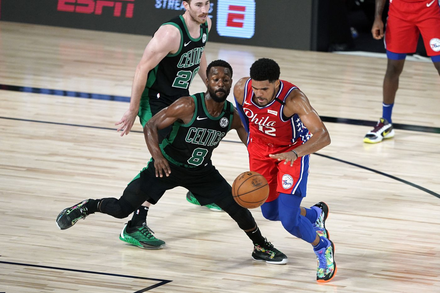Sixers confident, focused and ready to even series with Celtics | Off the Dribble