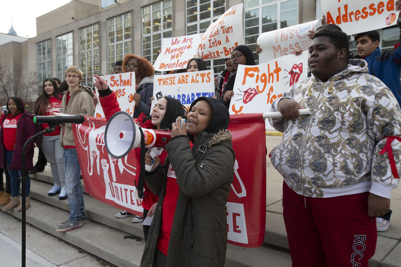 Advocates rally to get Philadelphia School District to publicize mental health resources for students