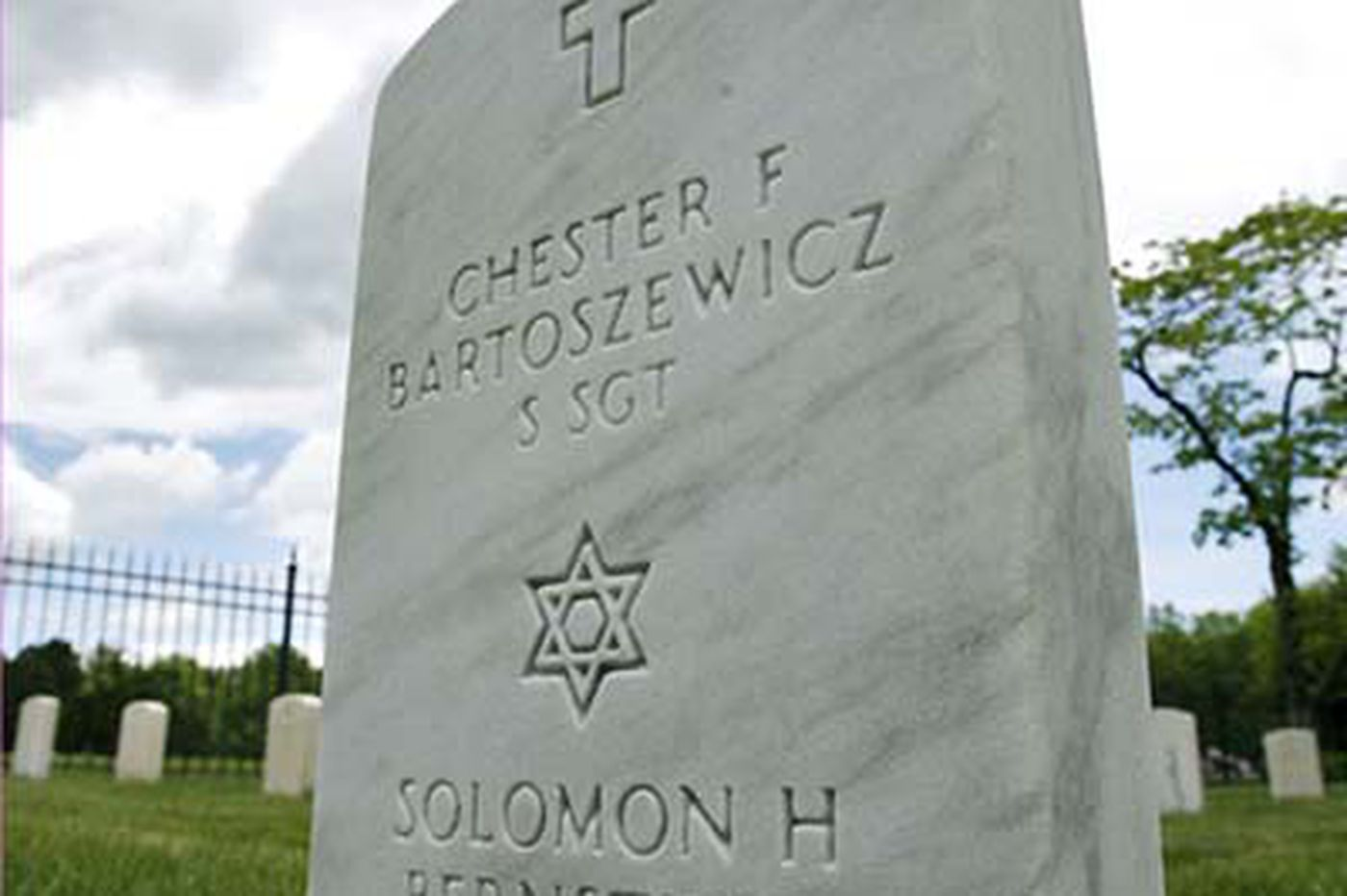 A 'unique' honor for 2 war dead