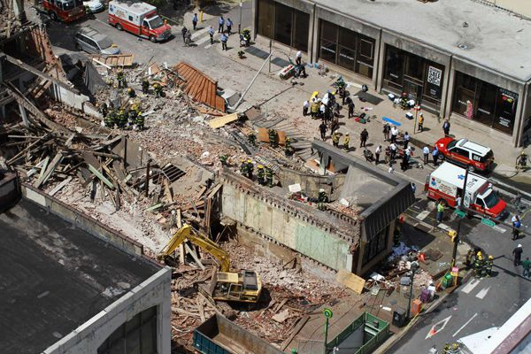 At issue in building collapse: Who knew what, and when?