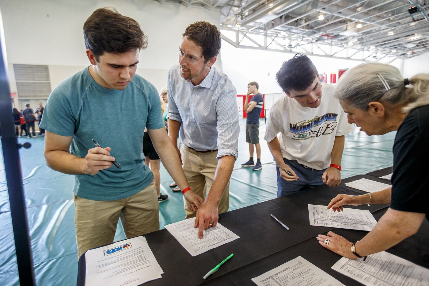 Voting on campus: At Haverford College, they want to, but can't