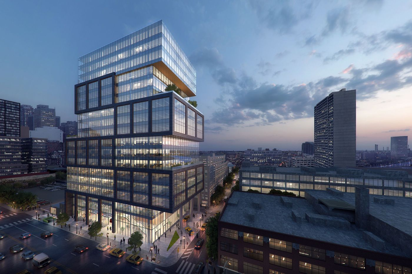 Plan for new law firm HQ tower on Market Street receives upbeat welcome from neighborhood committee