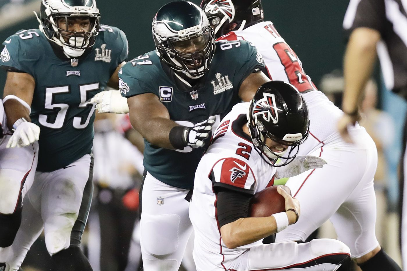 Flag day: Penalties were part of what made Eagles' opening win so ugly