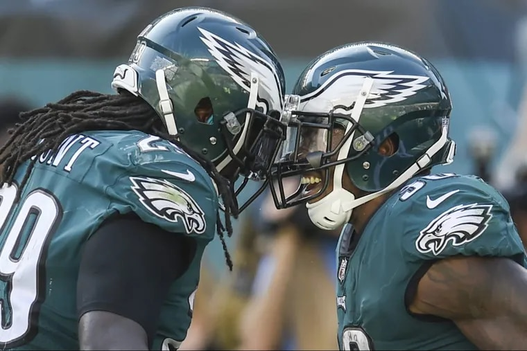 LeGarrette Blount and Corey Clement are two parts of the Eagles' running back committee.