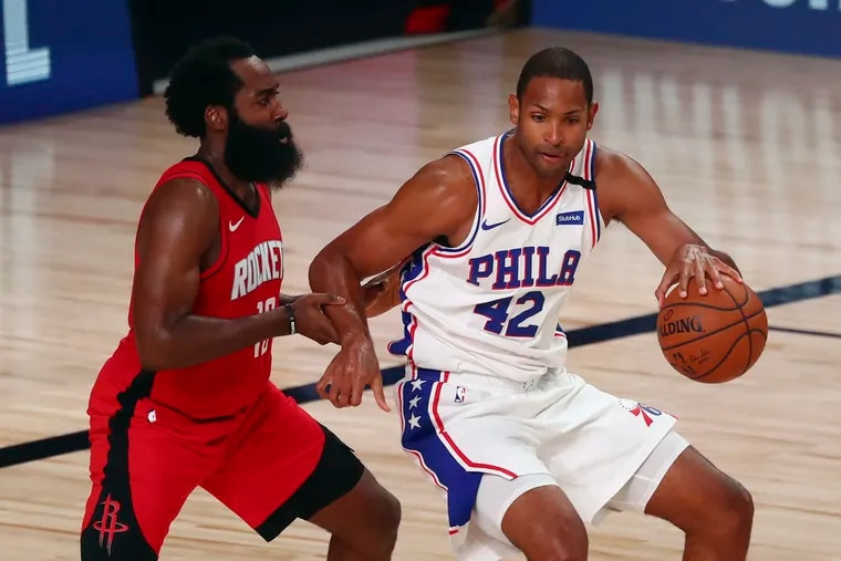 Sixers forward Al Horford could a trade target.
