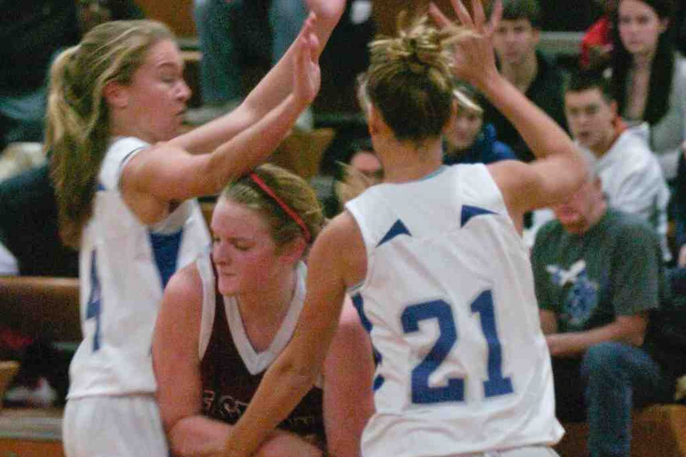 Sterling girls rout Eastern, 45-28